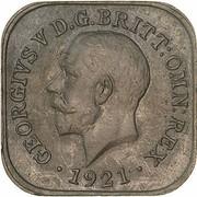 ½ Penny - George V (Kookaburra Pattern - Type 2) – obverse