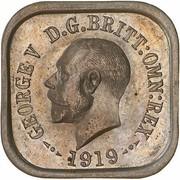 1 Penny - George V (Kookaburra Pattern - Type 3) – obverse