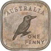 1 Penny - George V (Kookaburra Pattern - Type 3) -  reverse