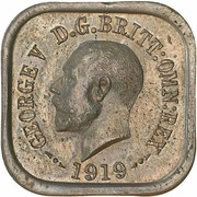1 Penny - George V (Kookaburra Pattern - Type 4) – obverse