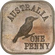 1 Penny - George V (Kookaburra Pattern - Type 5) -  reverse