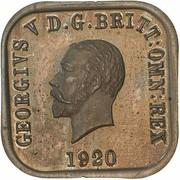 1 Penny - George V (Kookaburra Pattern - Type 9) -  obverse