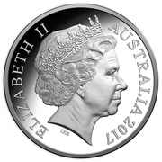 5 Dollars - Elizabeth II (4th Portrait - Century of the Battle of Beersheba - Silver Proof) -  obverse