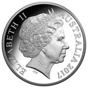 5 Dollars - Elizabeth II (Century of the Battle of Beersheba) -  obverse