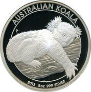 8 Dollars - Elizabeth II (4th Portrait - Koala - Silver Bullion Coin) -  reverse