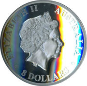 8 Dollars - Elizabeth II (4th Portrait - Koala - Silver Bullion Coin) -  obverse