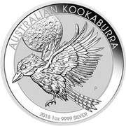 10 Dollars - Elizabeth II (Australian Kookaburra) -  reverse