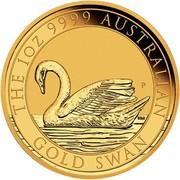 100 Dollars - Elizabeth II (Australian Swan) -  reverse