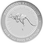 100 Dollars - Elizabeth II (Australian Kangaroo) -  reverse