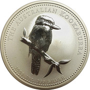 2 Dollar - Elizabeth II (Australian Kookaburra) -  reverse
