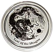 """8 Dollars - Elizabeth II (""""Lunar Year Series II"""" Silver Bullion Coinage) -  reverse"""