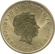 1 Dollar - Elizabeth II (Splendid Wren) -  obverse