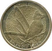 1 Dollar - Elizabeth II (Splendid Wren) -  reverse