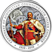 1 Dollar - Elizabeth II (4th portrait; 100th Anniversary of Australian Commonwealth Silver Coinage) -  reverse