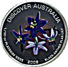 15 Dollars - Elizabeth II (Black-Anther Flax-Lily) – reverse