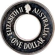 1 Dollar - Elizabeth II (3rd Portrait - The Holey Dollar) -  obverse