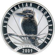 30 Dollars - Elizabeth II (Australian Kookaburra) -  reverse