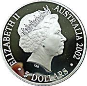 5 Dollars - Elizabeth II (The Queen Mother) -  obverse