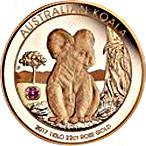 5000 Dollars - Elizabeth II (The Australian Trilogy - Koala) -  reverse
