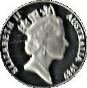 10 Dollars - Elizabeth II (Birds of Australia Series - Kookaburra) -  obverse