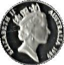 10 Dollars Elizabeth II (Birds of Australia Series - Kookaburra; Piedfort) -  obverse