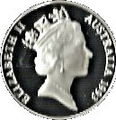 10 Dollars - Elizabeth II (Birds of Australia Series - Cockatoo; Piedfort) -  obverse