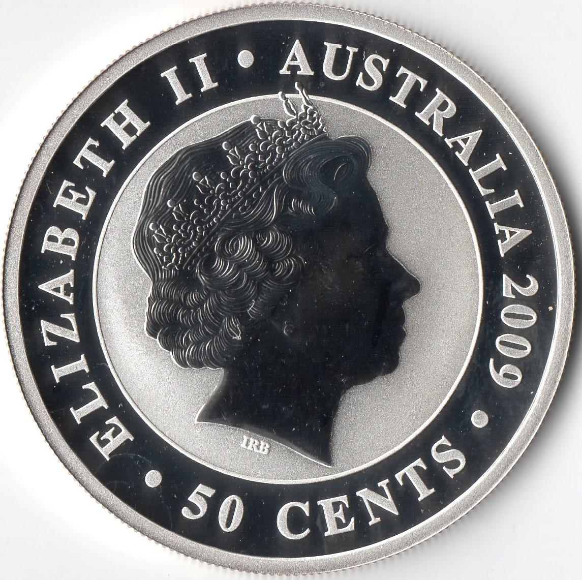 50 Cents Elizabeth Ii Quot Koala Quot Silver Bullion