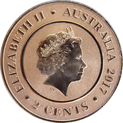 2 Cents - Elizabeth II (Planetary Coins - Venus) – obverse