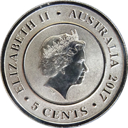 5 Cents - Elizabeth II (4th portrait - Planetary Coins - Mercury) -  obverse