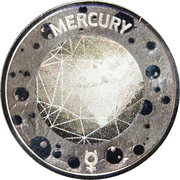 5 Cents - Elizabeth II (4th portrait - Planetary Coins - Mercury) -  reverse