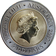 5 Dollars - Elizabeth II (Planetary Coins - Saturn) -  obverse