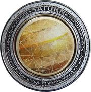 5 Dollars - Elizabeth II (Planetary Coins - Saturn) -  reverse