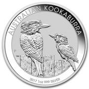 1 Dollar - Elizabeth II (4th Portrait - Australian Kookaburra - Proof High Relief) -  reverse