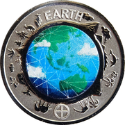 10 Cents - Elizabeth II (Planetary Coins - Earth) – reverse