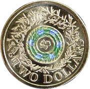 2 Dollars - Elizabeth II (Remembrance Day) -  reverse