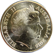 1 Dollar - Elizabeth II (4th Portrait - Armistice Centenary 1918 - 2018) -  obverse