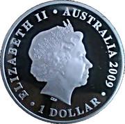 1 Dollar - Elizabeth II (2010 FIFA World Cup) -  obverse
