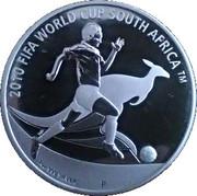 1 Dollar - Elizabeth II (2010 FIFA World Cup) -  reverse