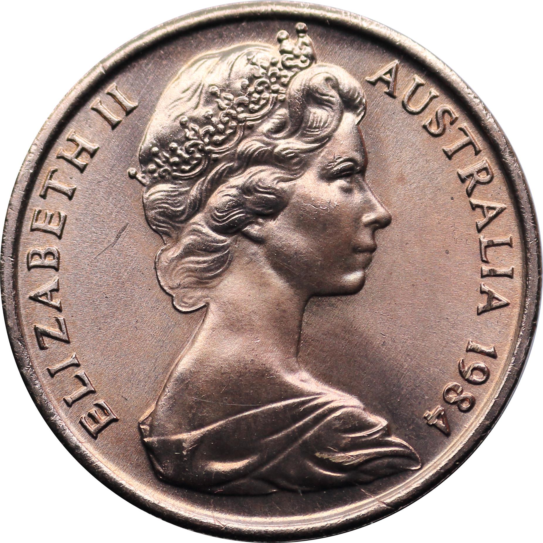 1 Cent - Elizabeth II (2nd portrait) - Australia – Numista