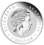 1 Dollar - Elizabeth II (4th Portrait - Koala) -  obverse