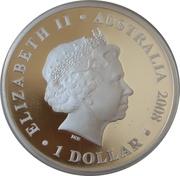 1 Dollar - Elizabeth II (Christmas Island) – obverse