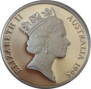 10 Dollars - Elizabeth II (Numbat; Piedfort) – obverse