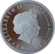 1 Dollar - Elizabeth II (Heard & McDonald Islands) -  obverse