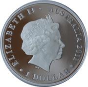 1 Dollar - Elizabeth II (Heard & McDonald Islands) -  obverse