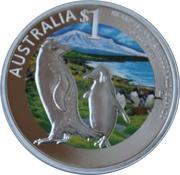 1 Dollar - Elizabeth II (Heard & McDonald Islands) -  reverse