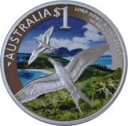 1 Dollar - Elizabeth II (Lord Howe Island group) -  reverse