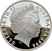 10 Dollars - Elizabeth II (Wombat) -  obverse