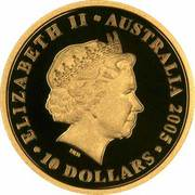 10 Dollars - Elizabeth II (90th Anniversary of ANZAC) -  obverse