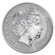 1 Dollar - Elizabeth II (Saltwater Crocodiles - Monty) -  obverse