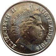2 Dollars - Elizabeth II (XXI Commonwealth Games - Emblem) – obverse